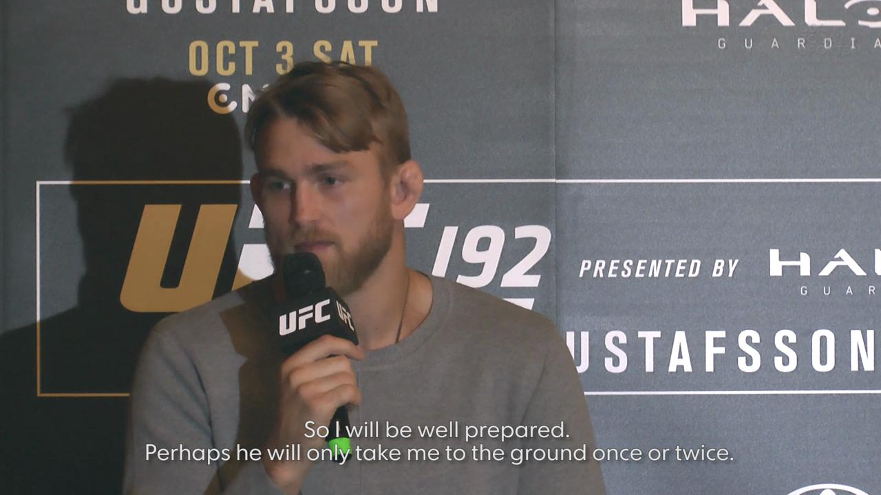 Alexander Gustafsson believes he'll beat Daniel Cormier but still won't be best light heavyweight in the world