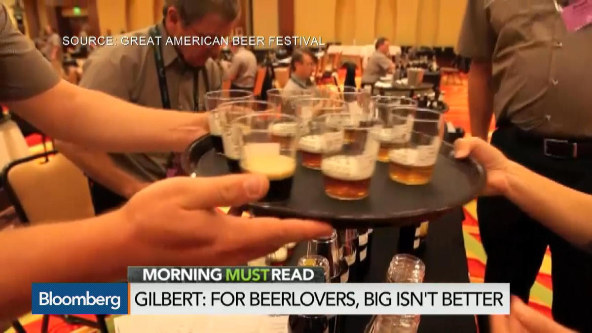 Beerlovers Want Big Beers, Not Bigger Beer Makers