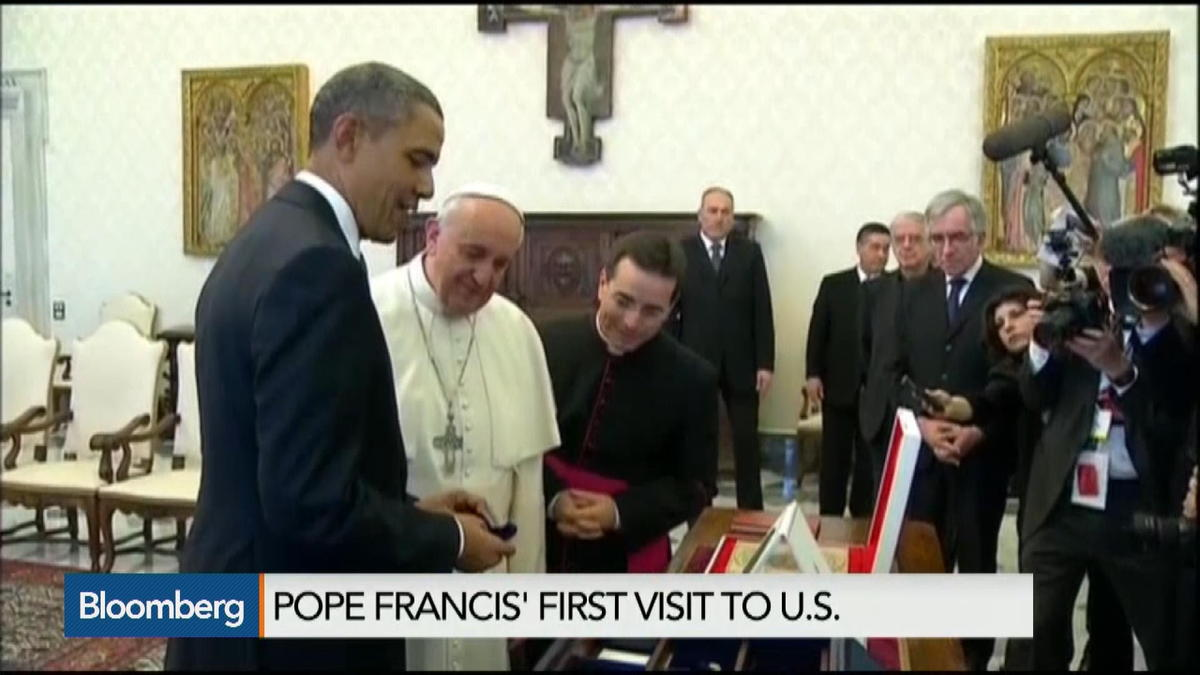 The politics of Pope Francis' first U.S. visit