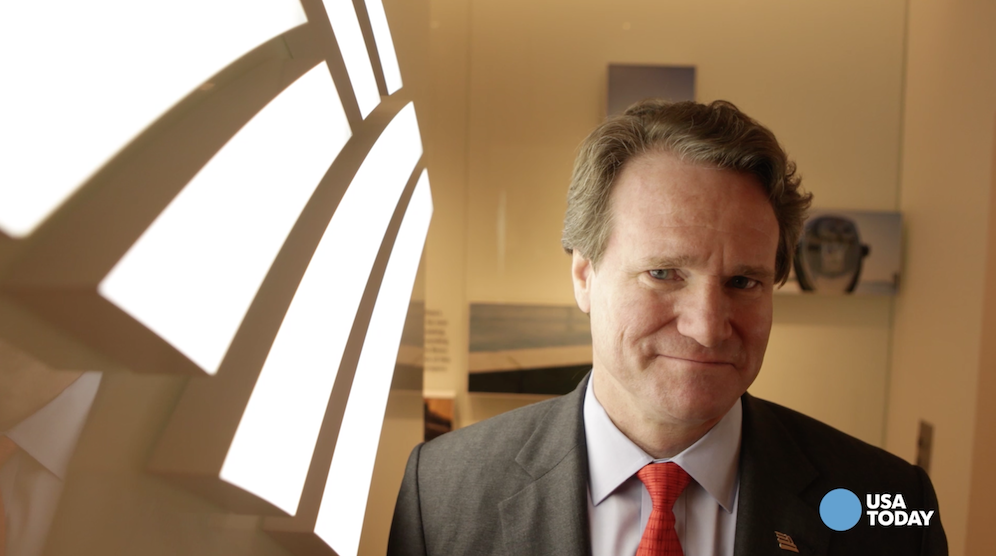 Bank of America CEO faces toughest vote of his career