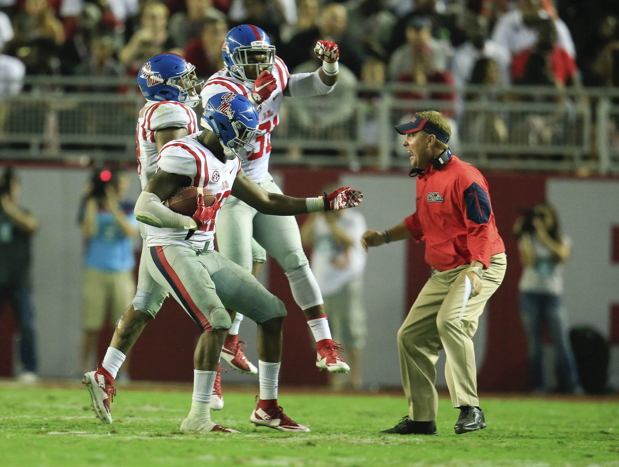 Amway Coaches Poll: Ole Miss makes the leap