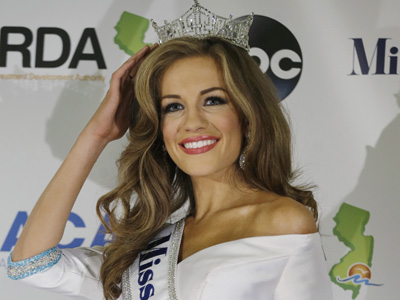 New Miss America Talks Brady, Miss Colorado
