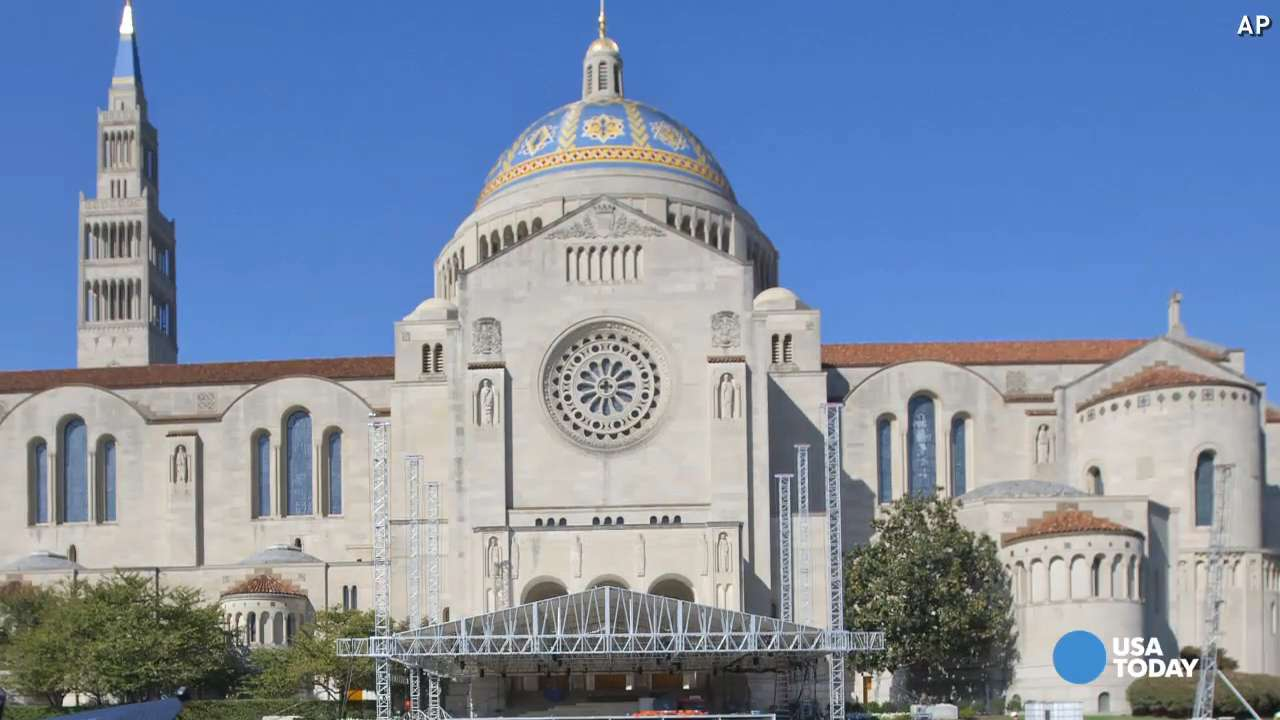 Pope Francis will visit these 4 U.S. churches