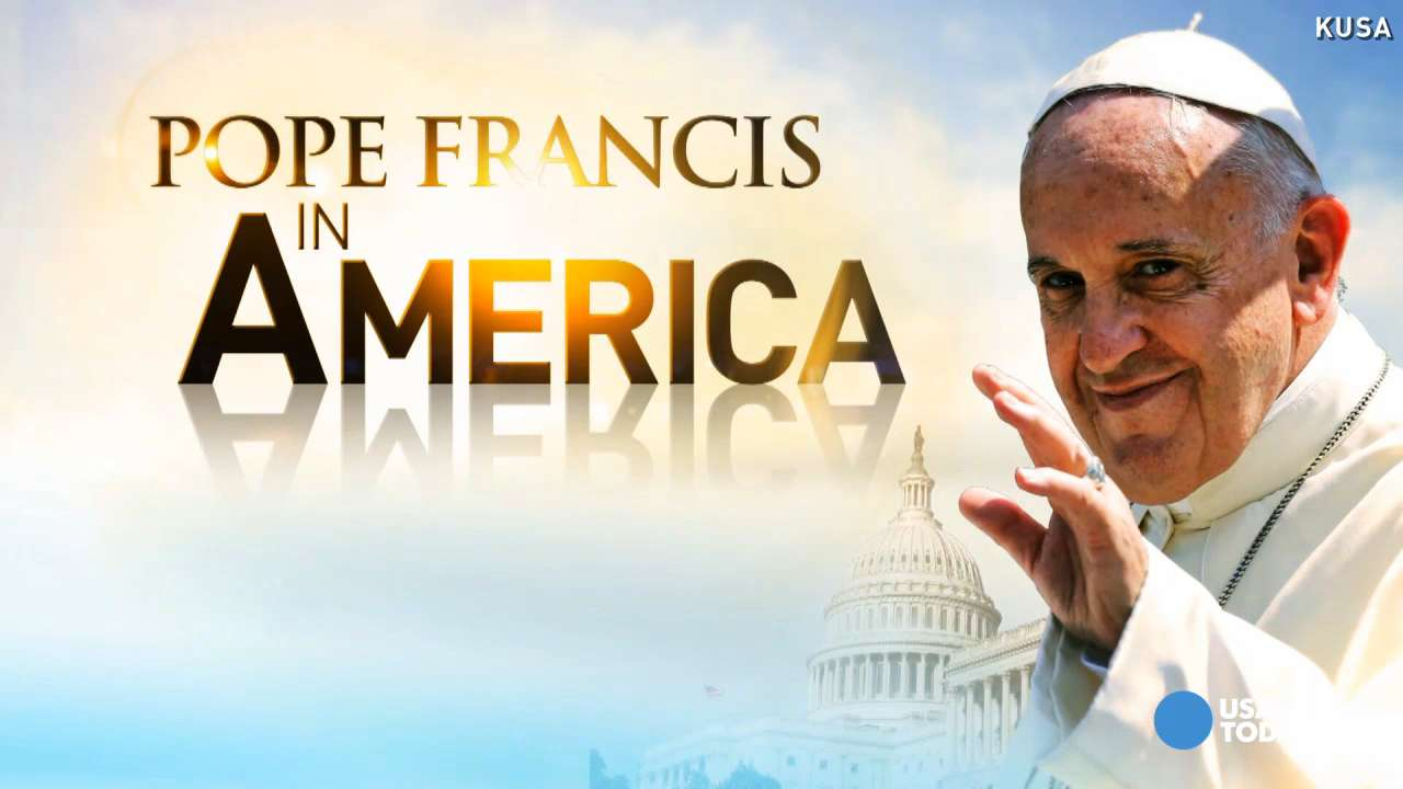 Where is Pope Francis A schedule of his US visit