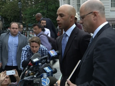 Tennis Pro Tackled by Police Meets with NY Mayor