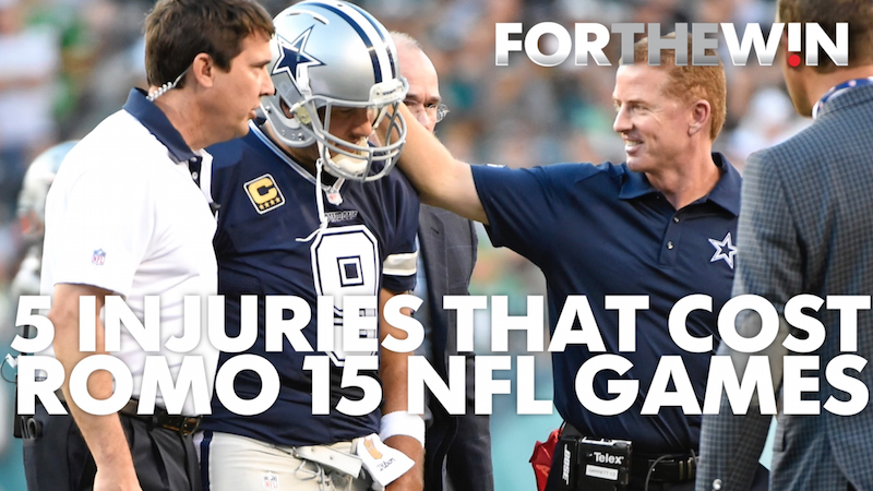 Breakdown: Tony Romo's career injuries