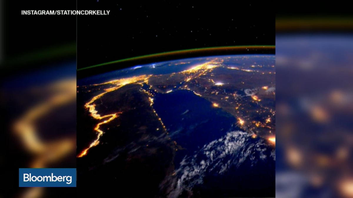 Astronaut Scott Kelly captures Nile River from space