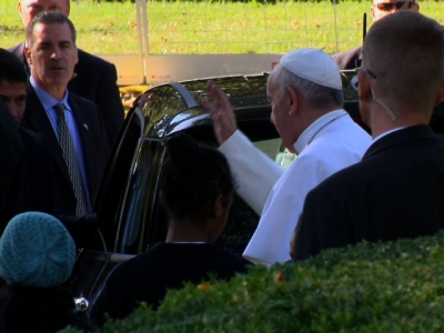 Pope Frances Heads to White House