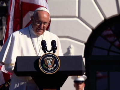 Pope Calls For Action on Climate Change