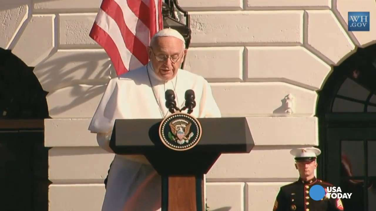 Pope finds Obama's climate change agenda 'encouraging'