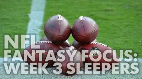 USA TODAY Sports gets you ready for Week 3 of fantasy football with this week's top five sleepers.