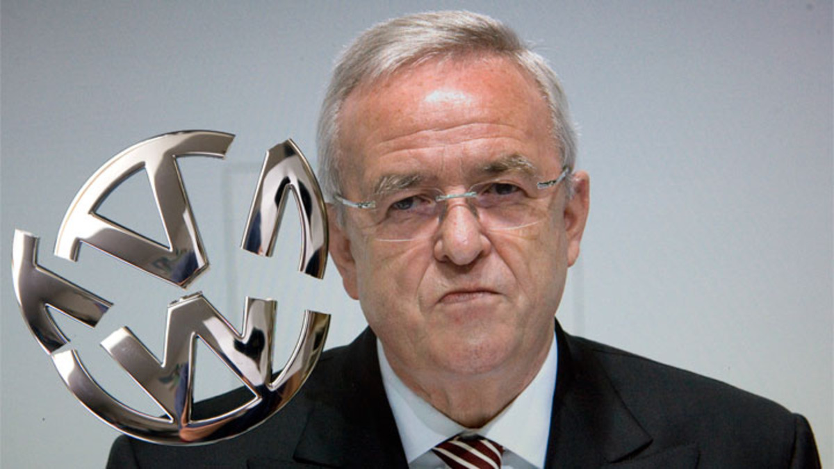 VW CEO Winterkorn Resigns Amid Emissions Scandal