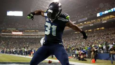 Seahawks SS Kam Chancellor is a leader of the team's Legion of Boom.