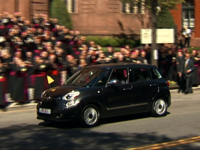 Pope Francis Returns to D.C. Residence