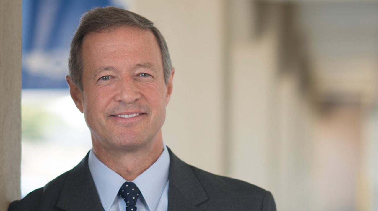 Martin O'Malley on Pope and Democrats