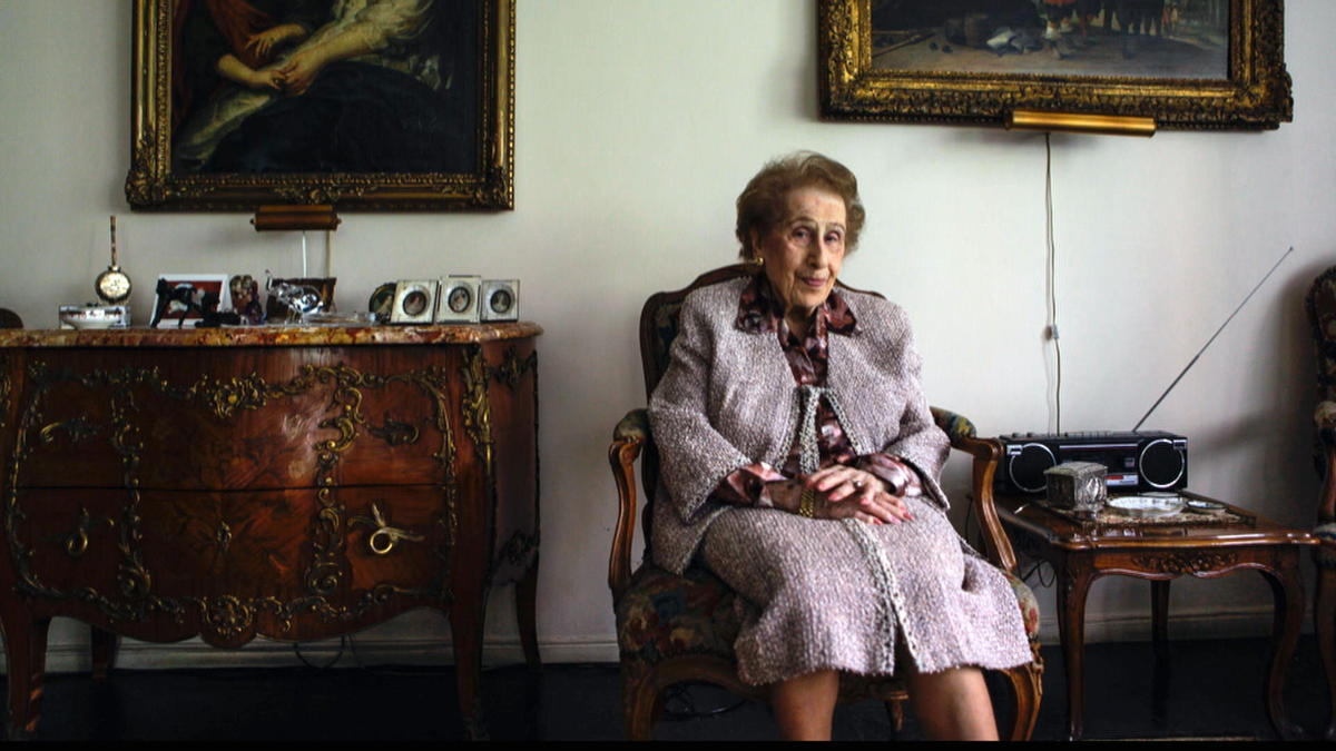 The oldest woman on Wall Street