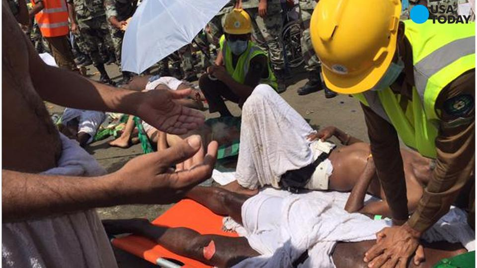 Saudi officials: Over 450 dead in hajj pilgrimage stampede