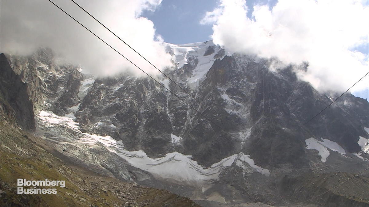 Mont Blanc Glacier feels the cold from climate change