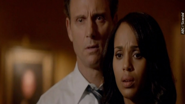 Olivia and Fitz are finally a couple in Season 5 of 'Scandal.'