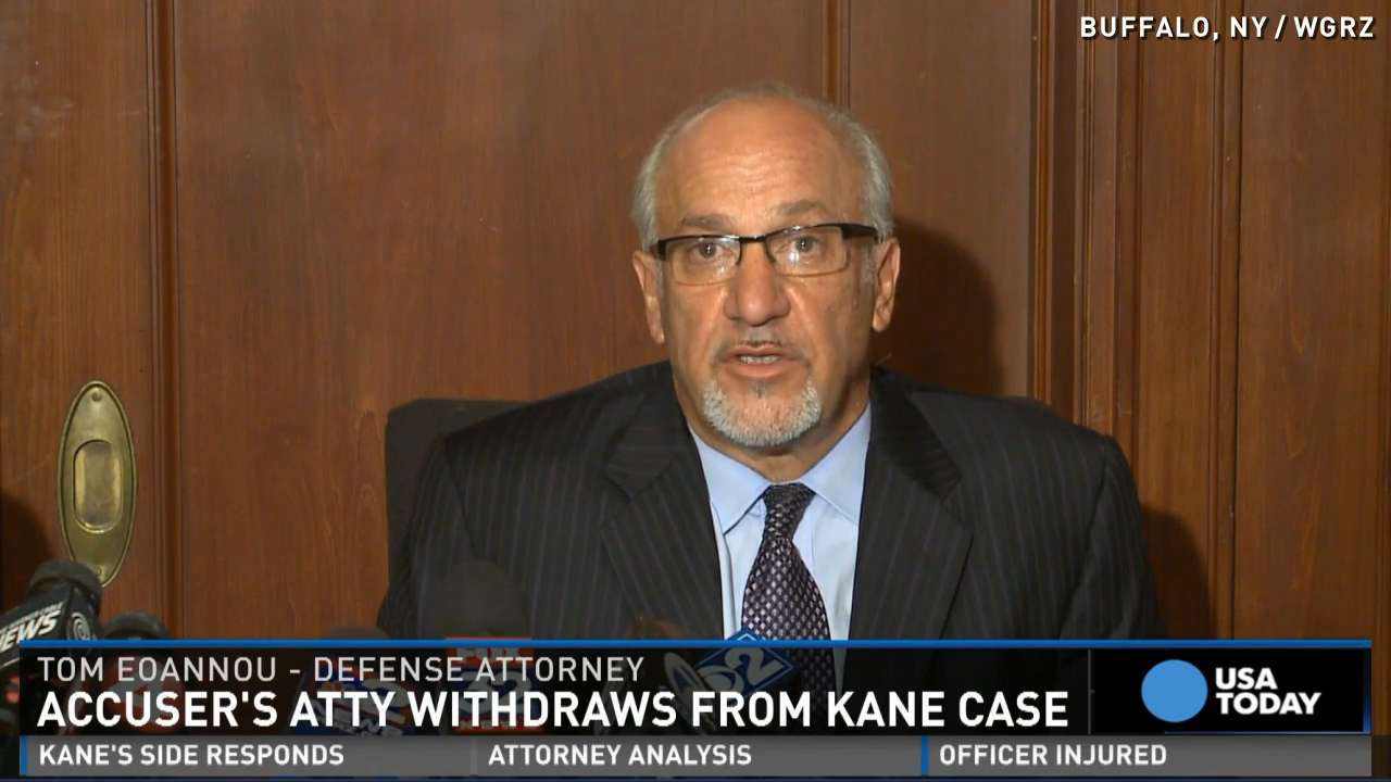 "Attorney Thomas Eoannou said ""misrepresentations were made"" about what could have been a key piece of evidence in the sexual assault case against NHL player Patrick Kane."