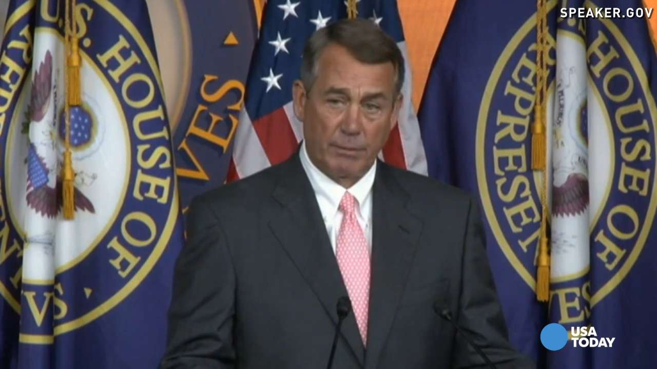 Boehner: Tried to do the 'right things for the country'