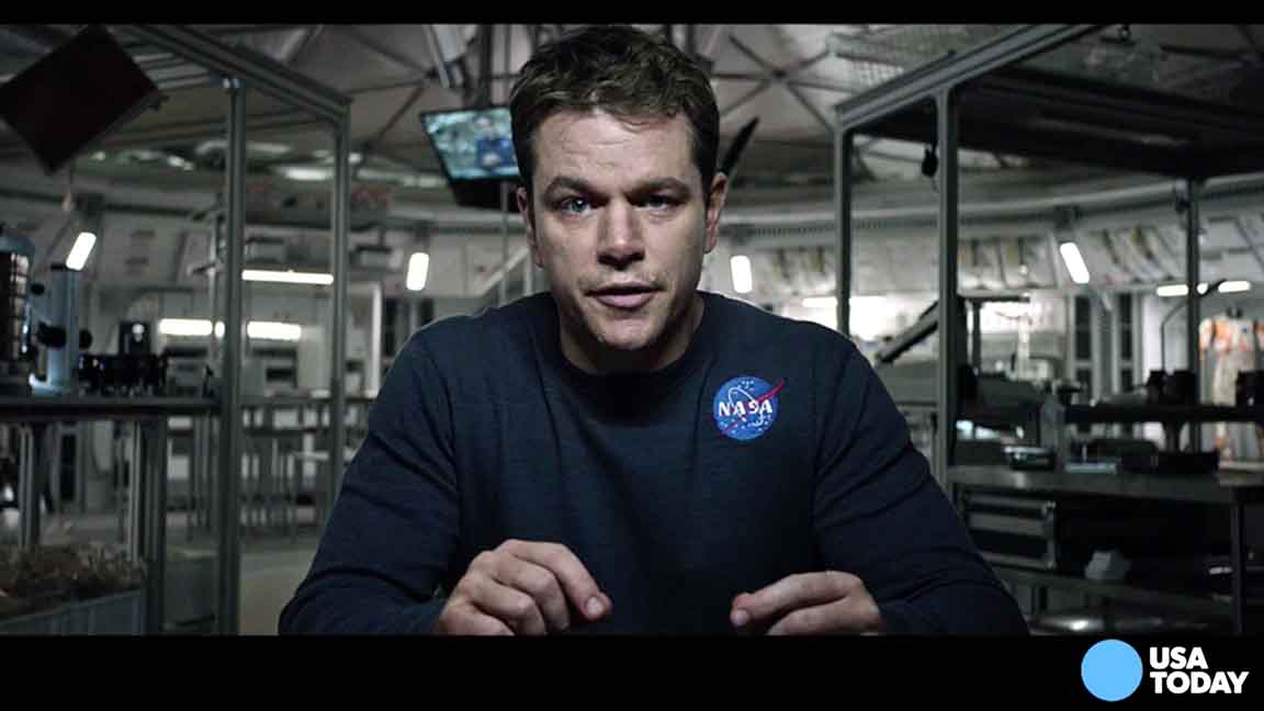 Matt Damon talks Martian potatoes