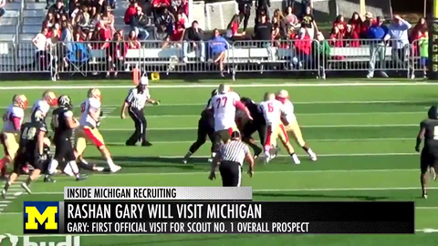 Rashan Gary Makes Michigan His First Visit