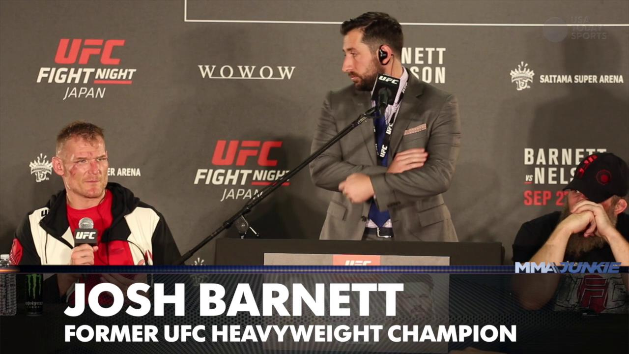 Despite lagging attendance, Joe Carr, Josh Barnett bullish on UFC's future in Japan