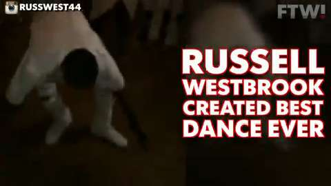 Russell Westbrook created best dance ever