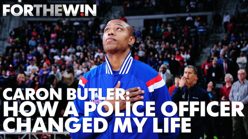 Caron Butler: How a Police Officer changed my life