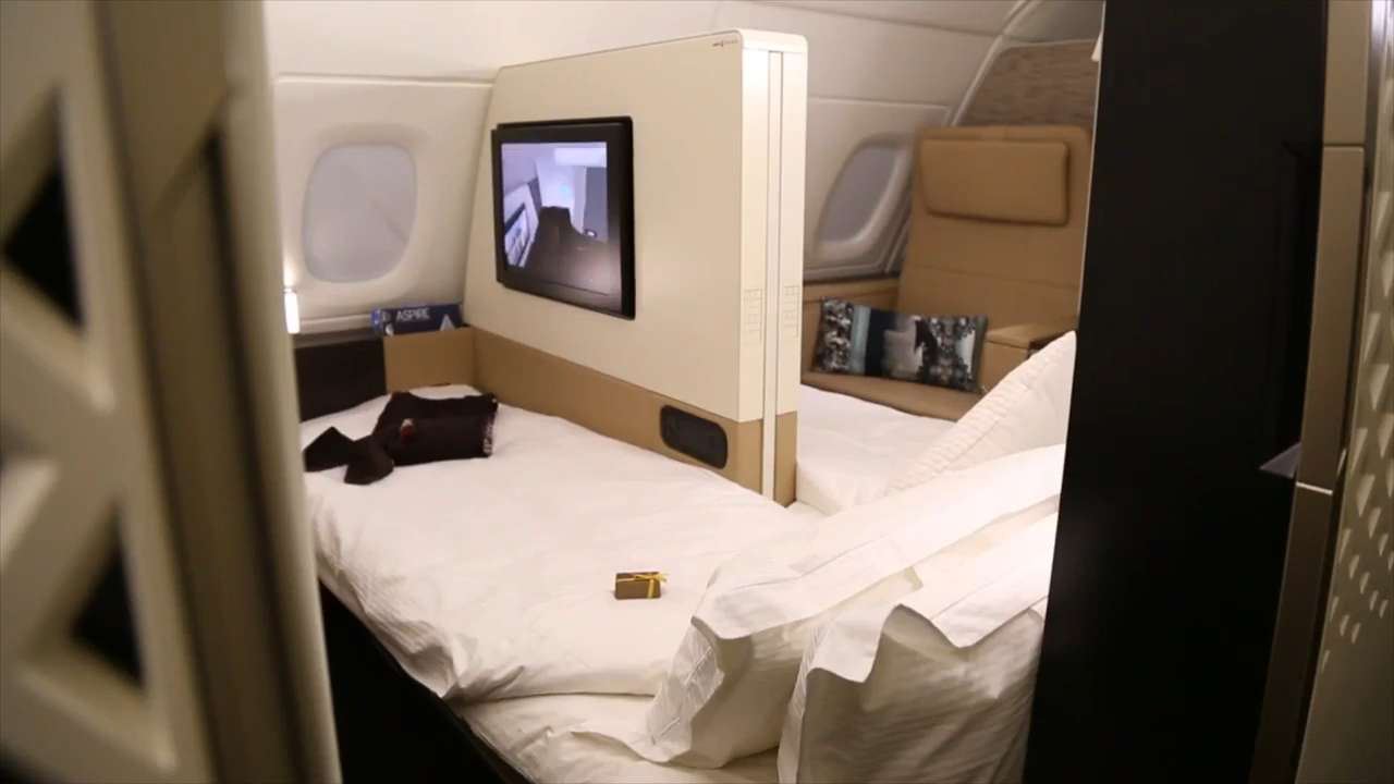 Etihad Airways unveiled its luxury cabins, 'The Residence' and 'First Apartment', in December. They give customers more space and privacy than any other airline.