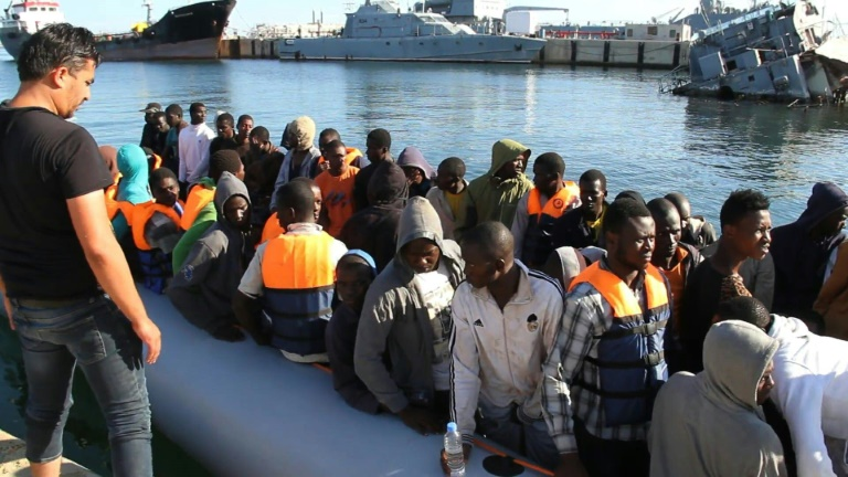 Libya coastguard rescues 346 migrants