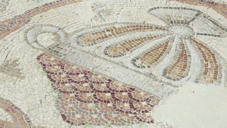 Rare Byzantine mosaic of 'city map' restored in Israel