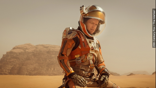 The science in 'The Martian' isn't fiction