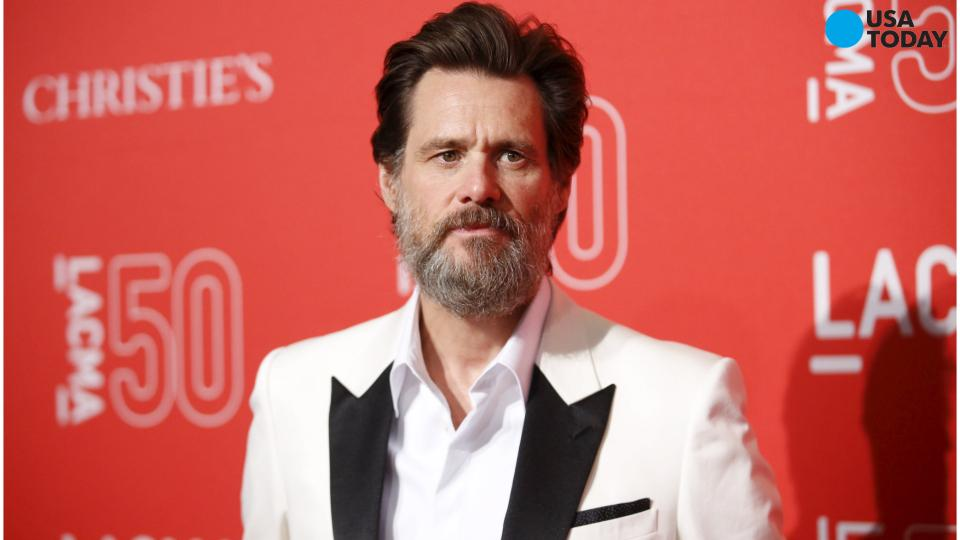 Jim Carrey speaks about girlfriend's death