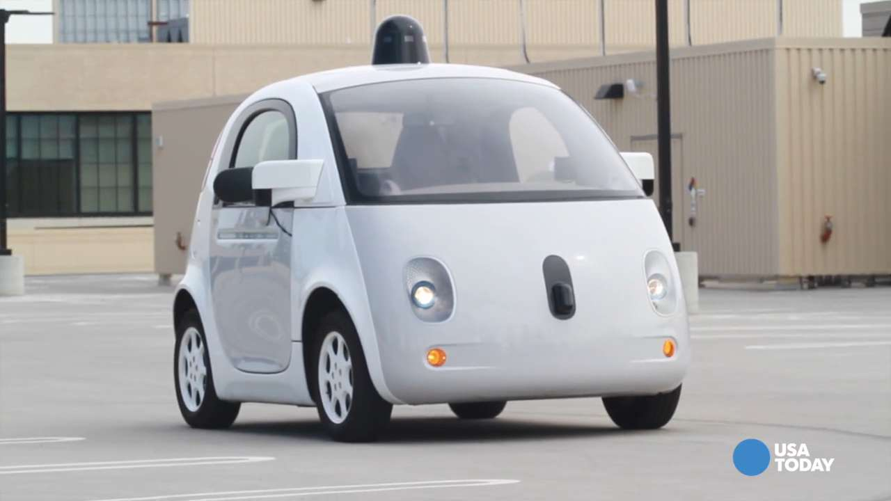 Google's self-driving pod car unveiled