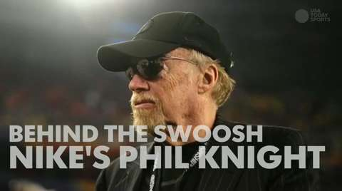 Behind the swoosh with Nike's Phil Knight