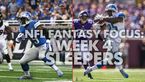 NFL Fantasy Focus: Week 4 sleepers