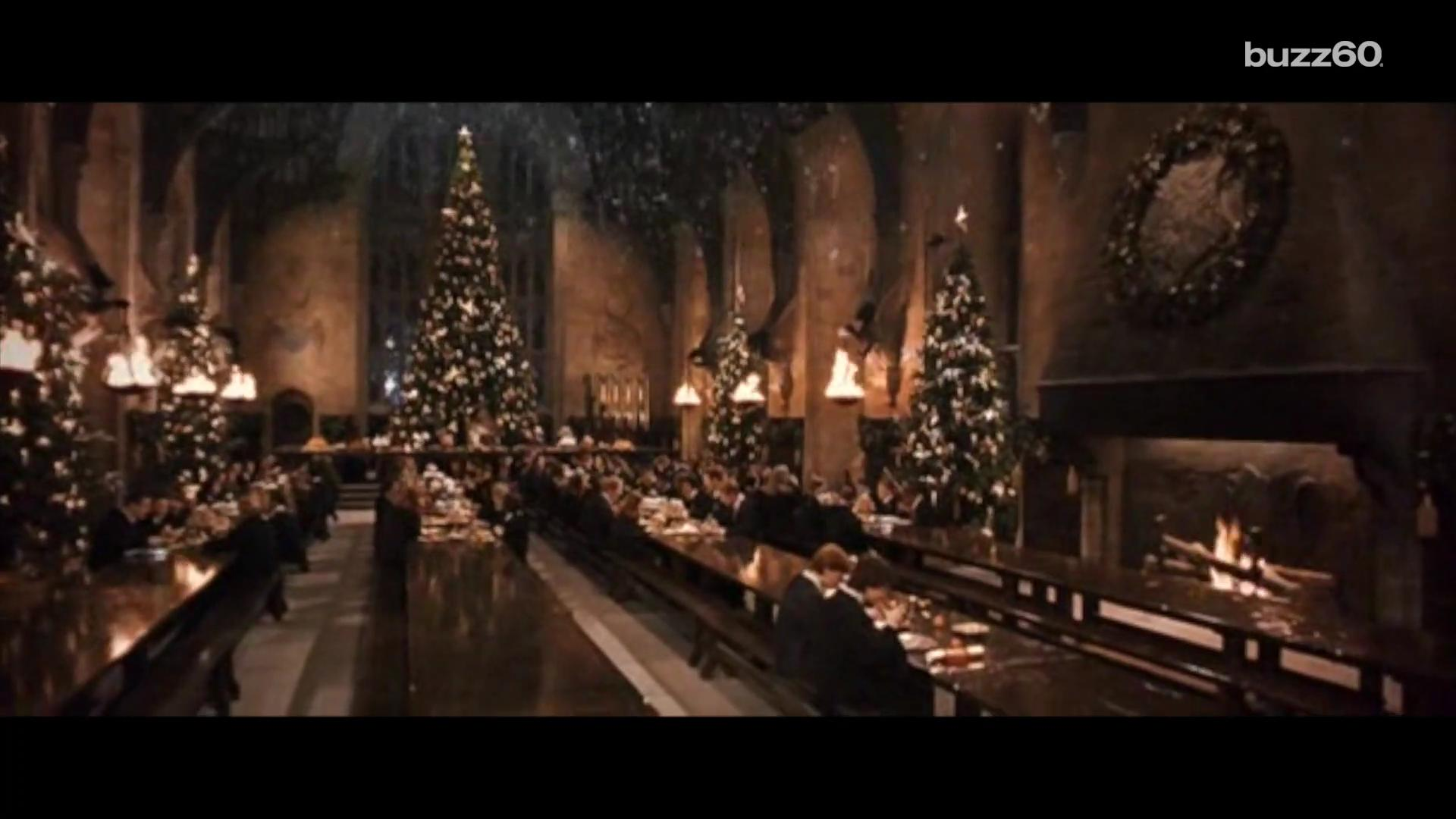You can eat in the real Great Hall from 'Harry Potter'