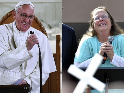 Details of Kim Davis' meeting with Pope Francis