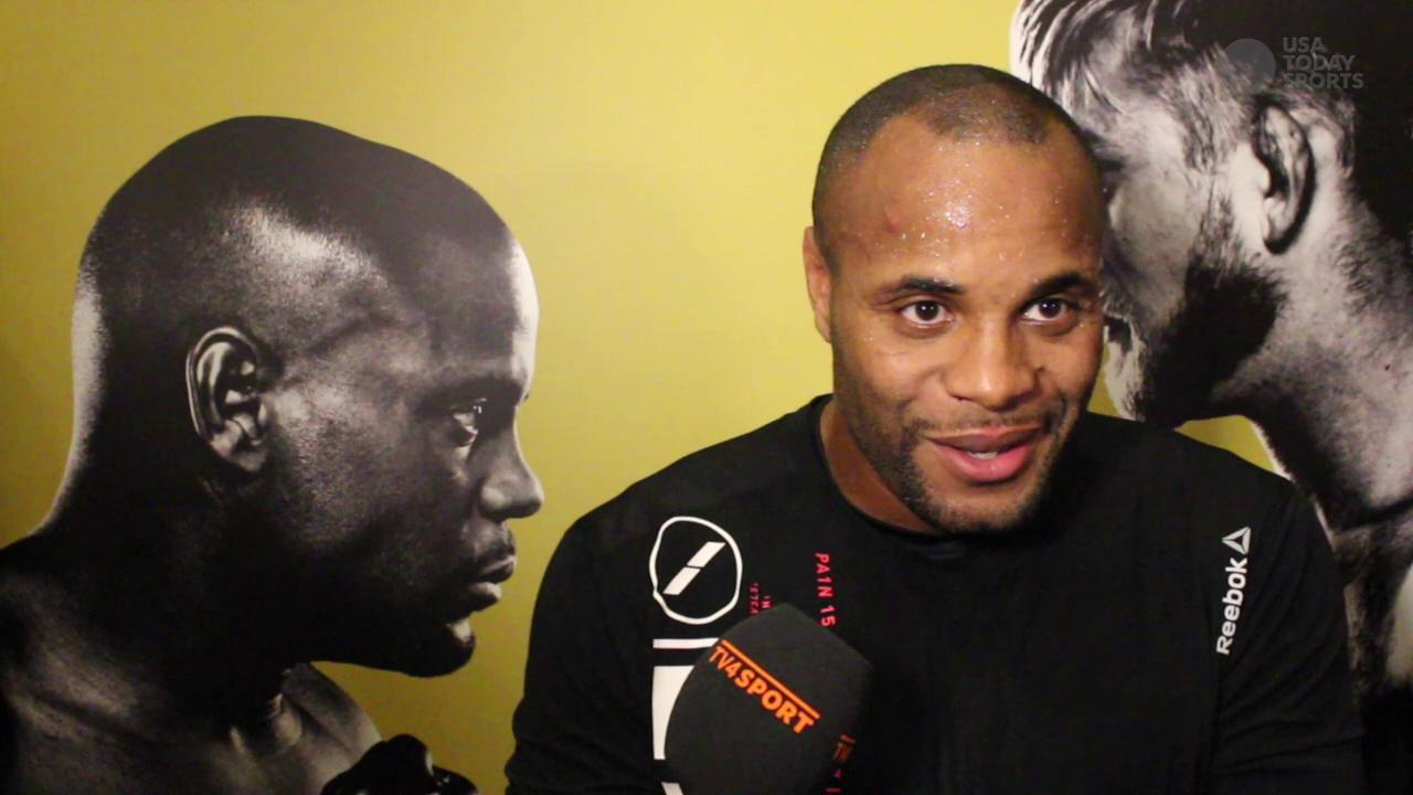 Daniel Cormier confident ahead of Alexander Gustafsson, not so sure Jon Jones is rushing back to the cage