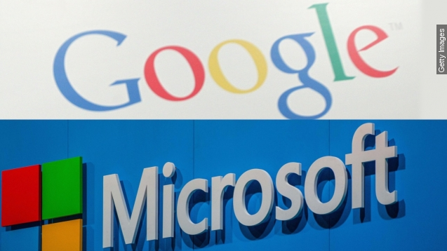Google, Microsoft drop patent disputes, agree to collaborate