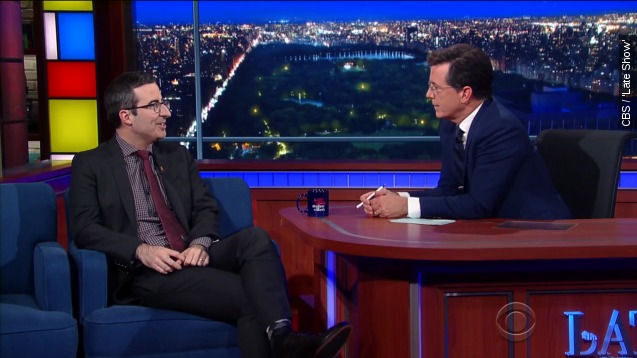 John Oliver had no Idea 'Last week Tonight' had A Website