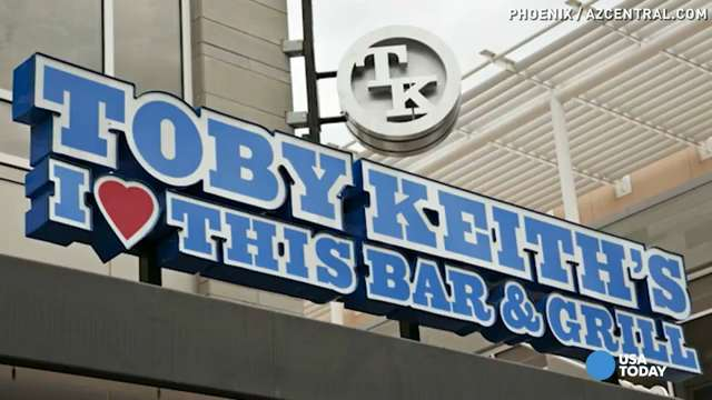 Toby Keith's I Love This Bar and Grill under fire