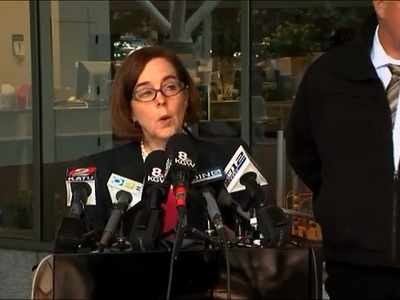 Oregon Gov: Gunman Dead in College Shooting