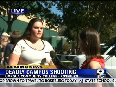 Oregon Student: 'We Need to Get Out of Here Now'