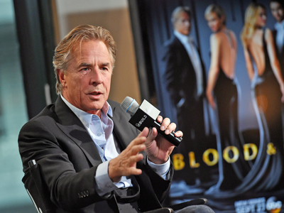 Don Johnson on 'great Joy' of Character Building