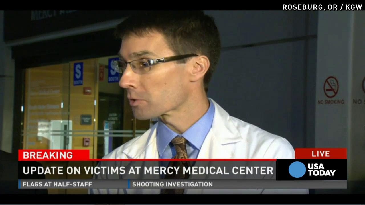 Doctor updates condition of Oregon shooting victims