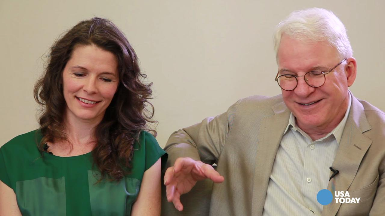 Steve Martin & Edie Brickell talk about their song writing process