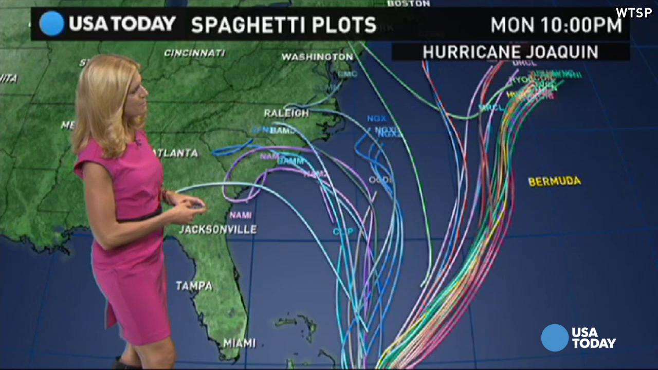 Hurricane Joaquin turns away from East Coast